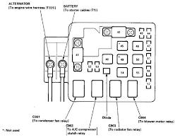 1994 honda accord alternator wiring diagram 94 honda accord
