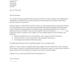 Free Printable Cover Letter by Production Manager Cover Letter