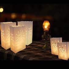 Outdoor Candle Lighting by Online Shop 20pcs Lot Romantic Lantern Paper Candle Bag Outdoor