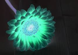 how to make a glowing flower