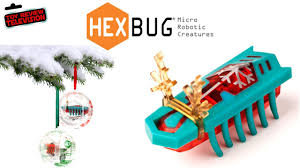 hexbug nano ornament special review unboxing