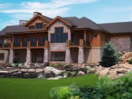 craftsman house plans with walkout basement craftsman house plans pinedale associated designs vintage single