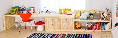 jeux de rangement de la chambre bureau étagère sympas kid furniture sympa bureau
