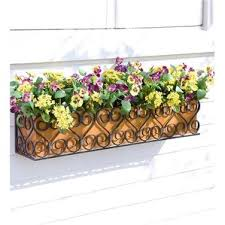 Wooden Window Flower Boxes - window boxes you u0027ll love wayfair