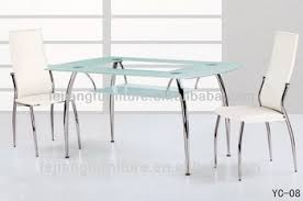 Steel Dining Table Owareinfo - Glass top dining table hyderabad