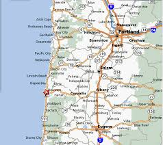 map of oregon 2 driving the us west coast along the coast chapter 2 oregon