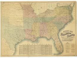 Southern States Map by Print Of Lloyd U0027s Map Of The Southern States Showing All The