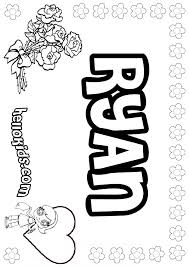 ryan coloring pages hellokids