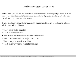cover letter introduction real estate cover letter commercial