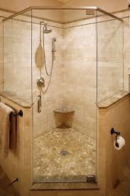 Bathroom Corner Shower Ideas Corner Shower In Master But With Shower Heads And