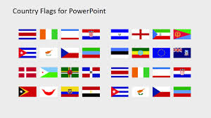 Countries Of The World Flags Country Flags Clipart For Powerpoint C To D Slidemodel