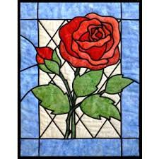 glass roses stained glass arbee designs