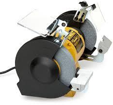 dewalt dw758 8 inch bench grinder power bench grinders amazon com