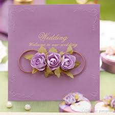wedding invitation cards cheap purple wedding invitation cards designs free shipping