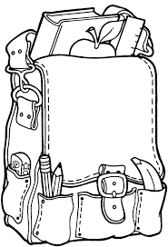printable back to coloring pages sheets supplies page
