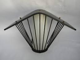 Antique Porch Light Fixtures Retro Mid Century Eames Vintage Architectural Porch Light Sconce