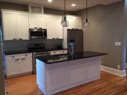 kitchen cabinet kings ice white shaker cabinets by kitchen cabinet kings note the crown