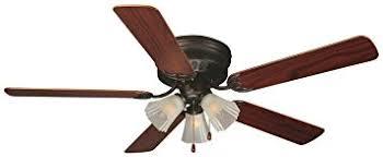 design house millbridge lighting design house 153411 millbridge 3 light ceiling fan 52 oil rubbed