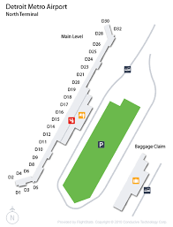 detroit metro airport map detroit airport dtw guide fly to detroit with flight center