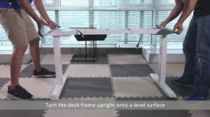 bureau assis debout electrique montage bureau assis debout électrique