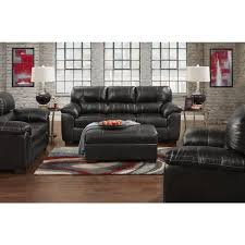 Leather Sofas Leeds Leeds Black Faux Leather Sofa Free Shipping Today