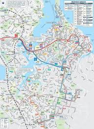 Miami Beach Bus Map Auckland Bus Map Auckland Bus Route Map New Zealand