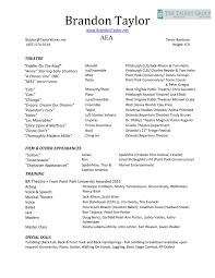 Holes Resume Film Resume Template Resume Templates