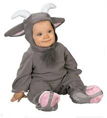 Infant Skunk Halloween Costume Billy Goat Bebe Goats Baby Costumes Costumes