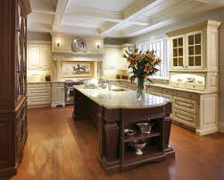 timeless kitchen design black granite countertops white stool
