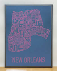 New Orleans Neighborhoods Map by New Orleans Neighborhood Map 18