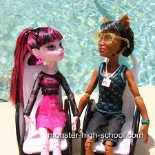 draculaura and clawd draculaura and clawd wolf festival dolls high doll
