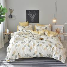 buy pineapple bed sheets and get free shipping on aliexpress com