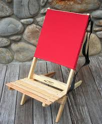 two piece portable chair by ridge chair