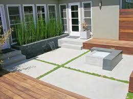 brilliant ideas concrete backyard best concrete patio crafts home
