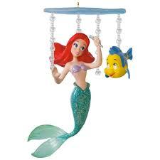 disney the mermaid ariel s world ornament keepsake