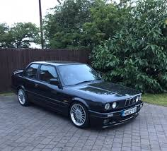 bmw e30 325i sport manual black leathers in shirley west