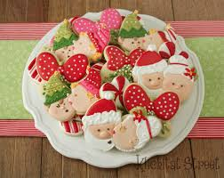 kissy elves christmas cookie tutorial klickitat street