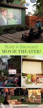 Backyard Outdoor Theater 25 Best Backyard Movie Theaters Ideas On Pinterest Outdoor