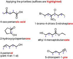 functional groups applying the priority copy orgo reactions