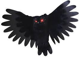 Halloween Props Decoration by Animated Owl Decorations U0026 Props