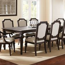 9 piece black dining room sets traditional black dining room set