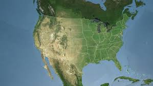 satellite map of florida usa florida state tallahassee extruded on the satellite map of