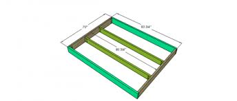 Cal King Platform Bed Plans by Free Woodworking Plans To Build A Viva Terra Inspired King Sized