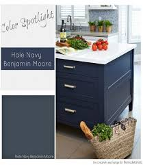 best wall color for navy cabinets remodelaholic color spotlight benjamin hale navy