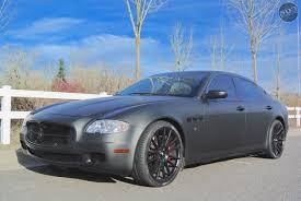 matte black maserati 5 503motoring terrence ross toronto raptors maserati quattroporte matte black savini wheels jpg