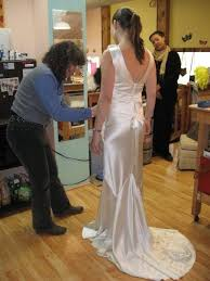 custom gown design fittings measurements hemming alterations