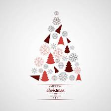 modern christmas tree modern christmas tree background vector free