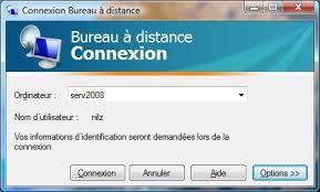 passerelle bureau à distance dossier installer et paramétrer terminal serveur sous windows 2008
