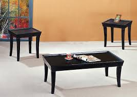 12 innovative creations of black contemporary coffee tables