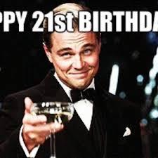 Happy 21 Birthday Meme - cousins 21st by nap8807 meme center